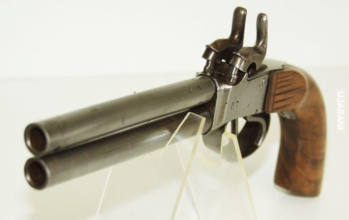 Pistolet dwulufowy podróżny