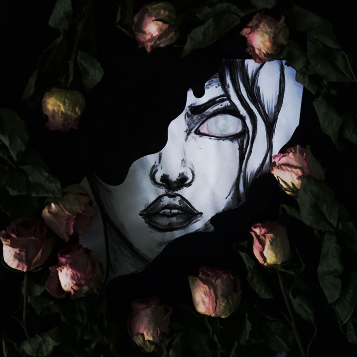 Taki tam rysuneczek i róże