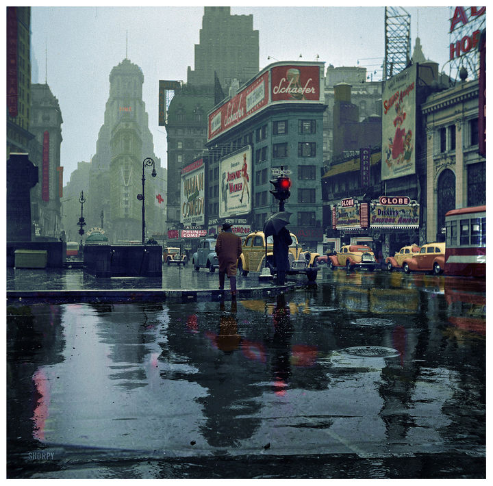 times square new york 1943