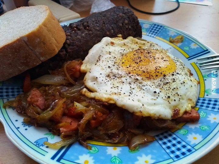 Takie śniadanko...