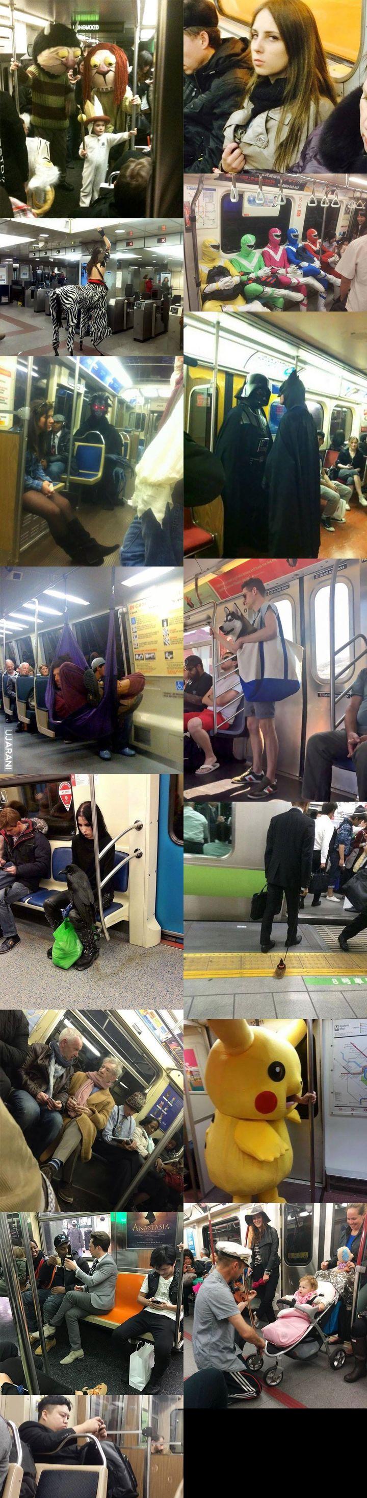 Nigdy nie wiesz kogo spotkasz w metrze