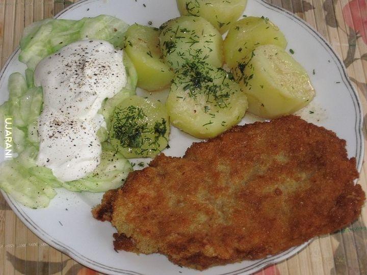 Typowy polski obiad.