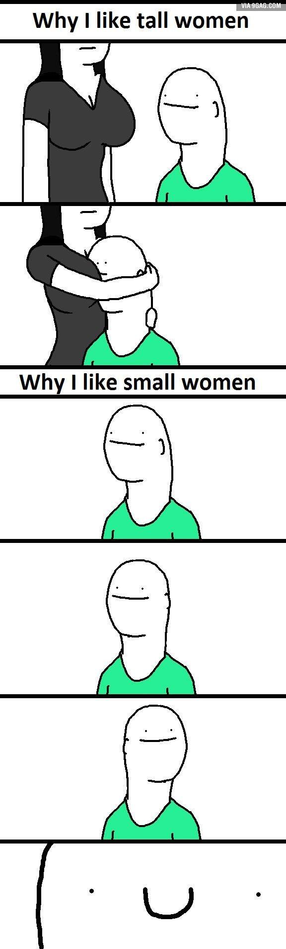 Dlaczego lubię niskie dziewczyny