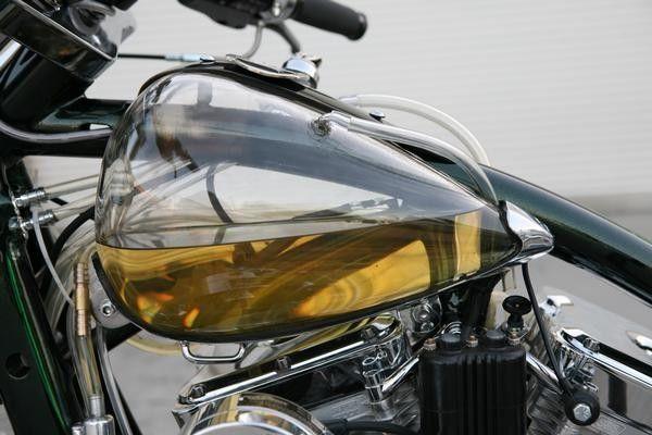 .glass fuel tank