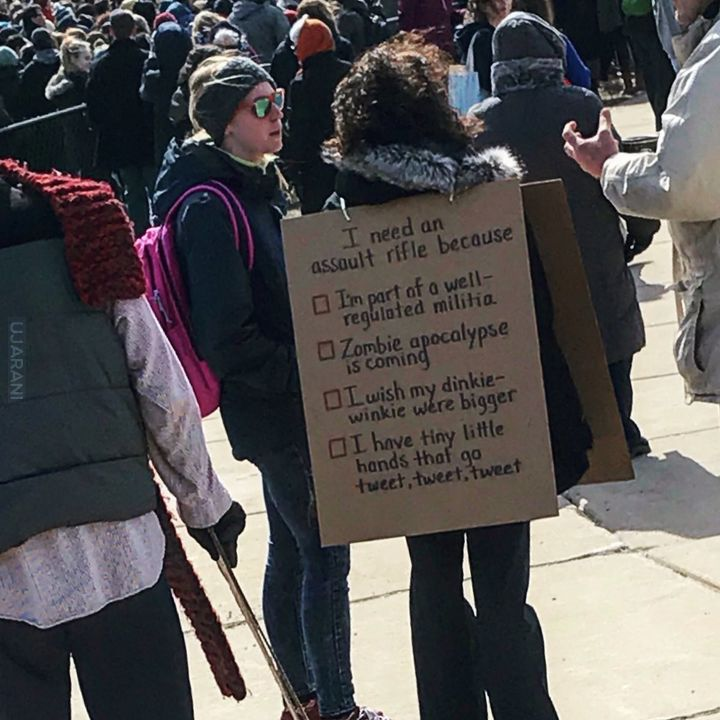 """March for our lives"" - #MarchForOurLives"