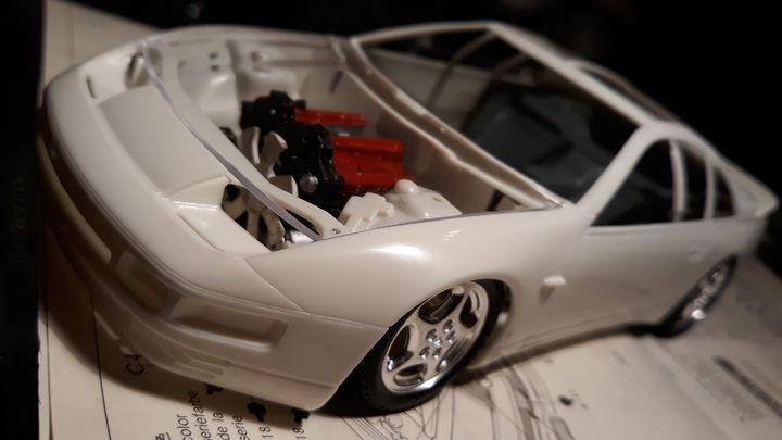 Nissan Fairlady 300 zx turbo (budowa)