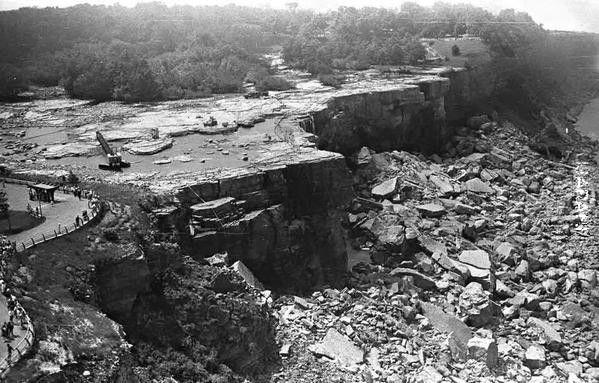 Wyłączona Niagara na czas remontu 1969r.