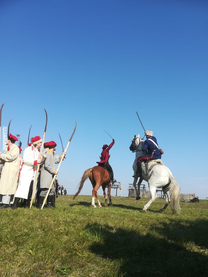 Rekonstrukcja bitwy pod Mełchowem.