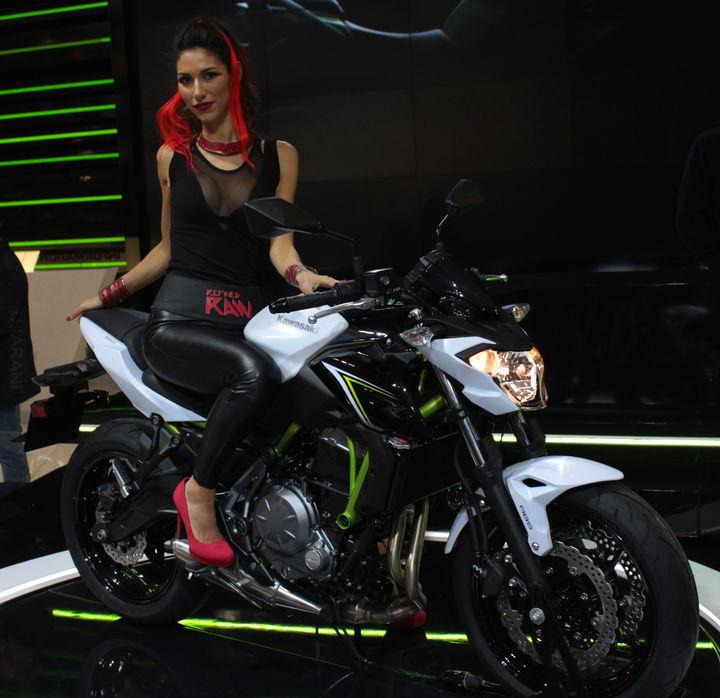 Dziewczyny na motocyklach