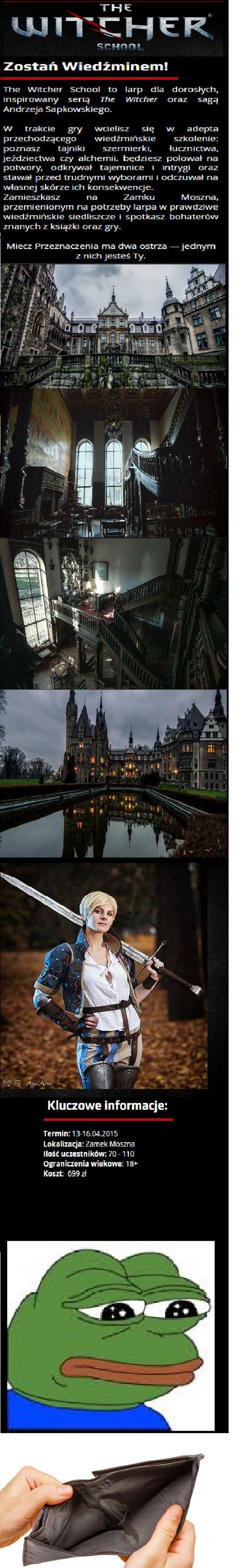 Witcher School - polska szkoła wiedźminów