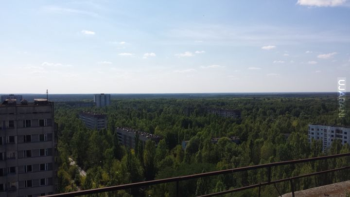 Czarnobylska Strefa Wykluczenia - Prypiat. 2015.