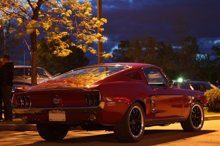 1968 Ford Mustan