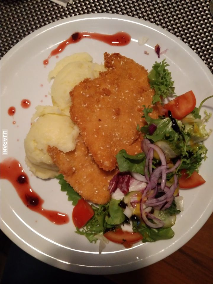 Sezamkowy kurczak.