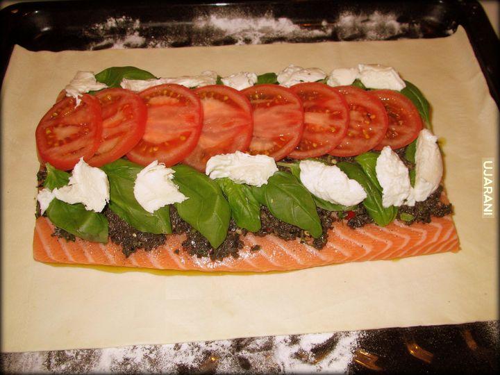 taka kolacyjka to się może podobać - łosoś en croute