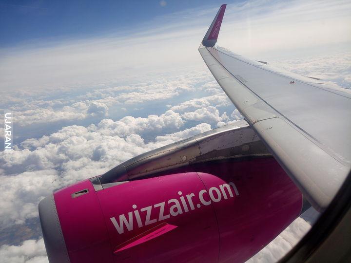 Mój pierwszy lot samolotem.