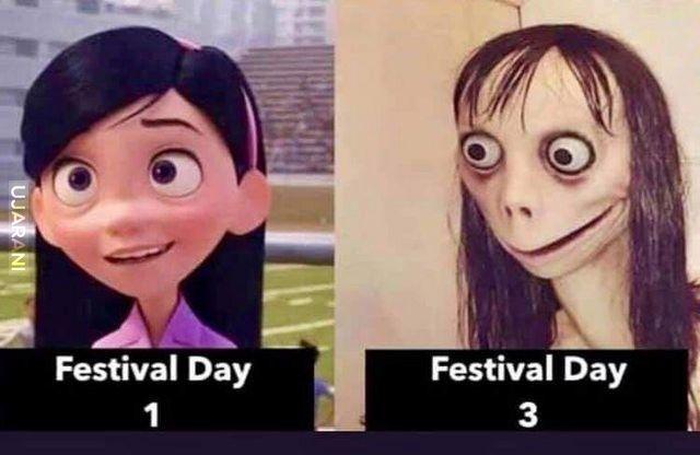 Festiwalowe życie