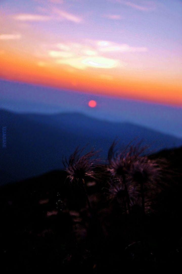 Wschód słońca, Babia Góra :)