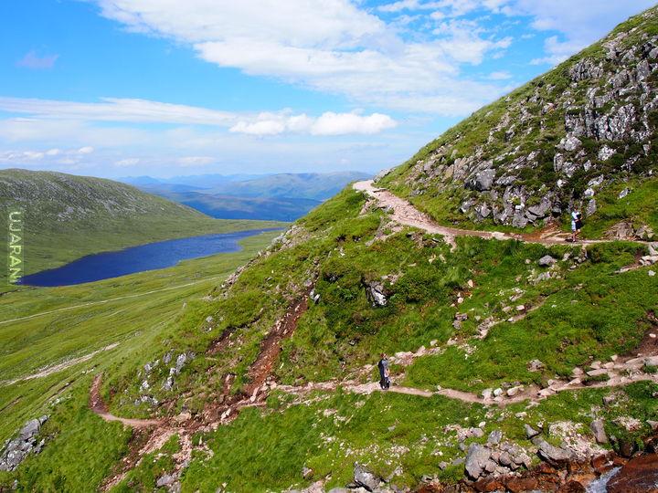 W drodze na Ben Nevis - Szkocja