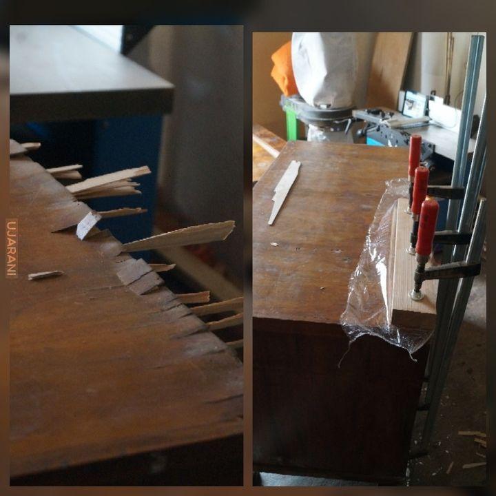 Renowacja Komody Biedermeier