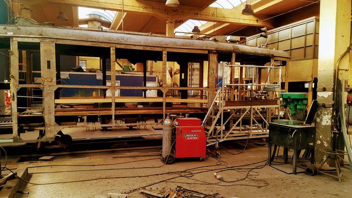 Rekonstrukcja tramwaju c.d #własne