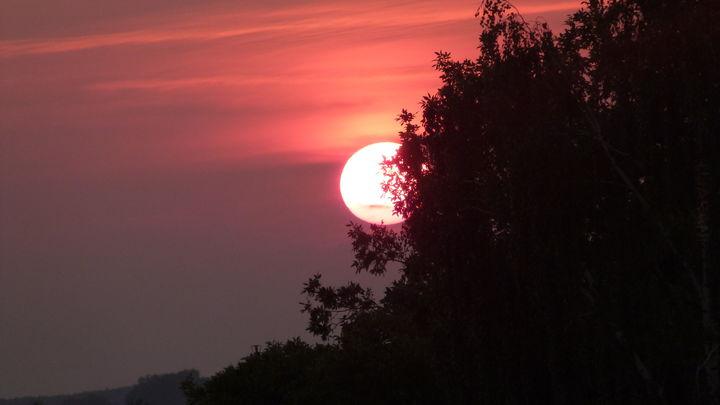 'Słońce kończy swoją zmianę'