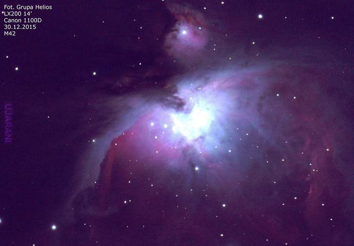 Wielka Mgławica w Orionie