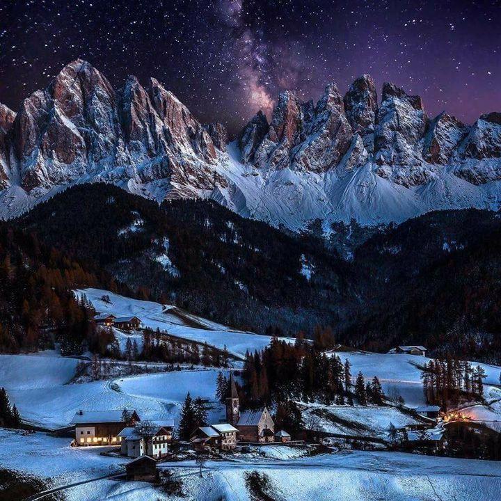Val di Funes, Italy.