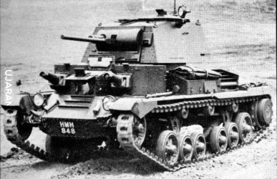 British Cruiser Tank Mark I (A9)