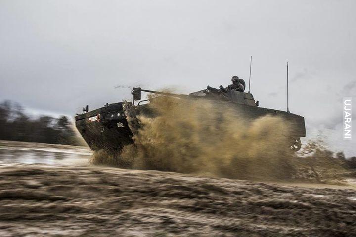 """Żołnierze 17 Wielkopolska Brygada Zmechanizowana JW 5700 wzięli udział w ćwiczeniach """"Rosomak-16""""."""