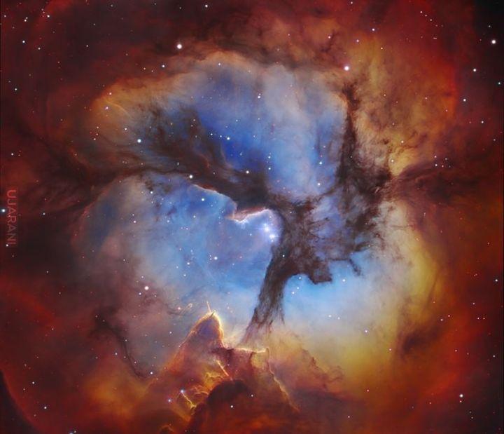 Mgławica Trójlistna Koniczyna (NGC 6514)