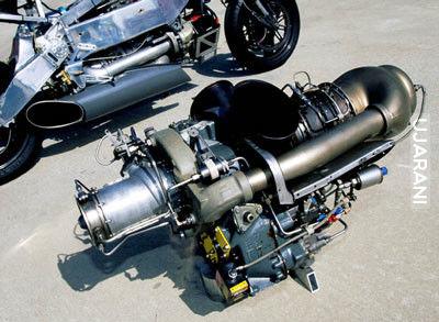 MTT Y2K scigacz z silnikiem turbinowym