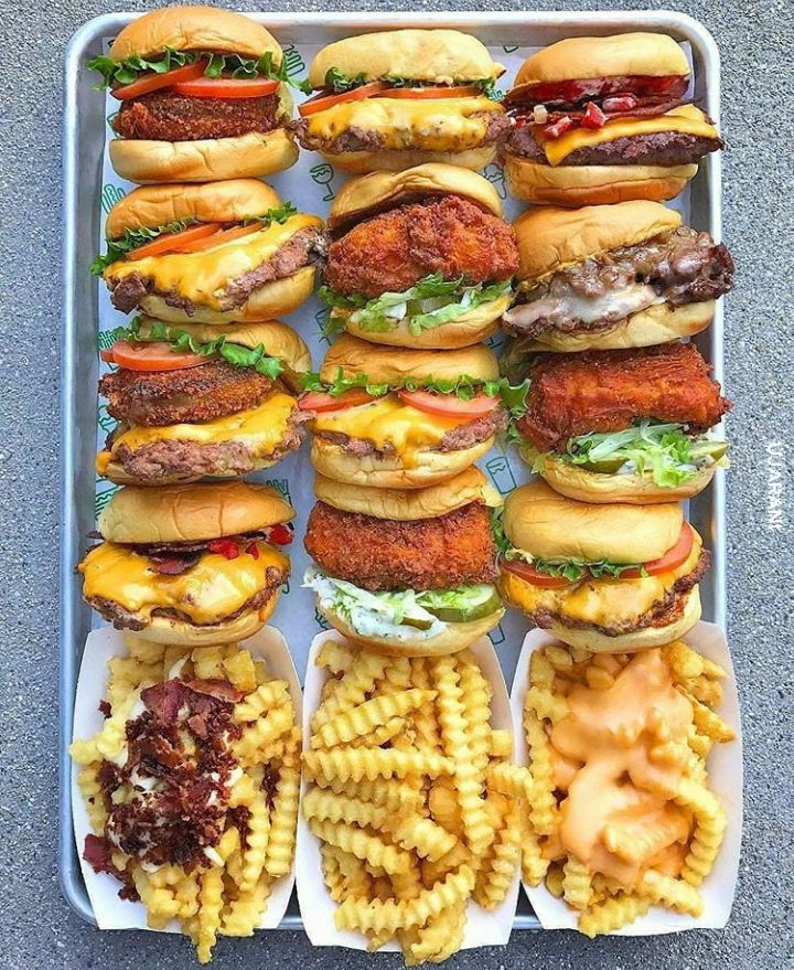 FastFood (friets,burgers)