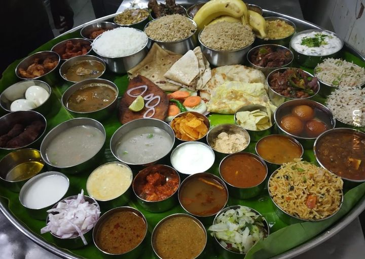 Bahubali Thali