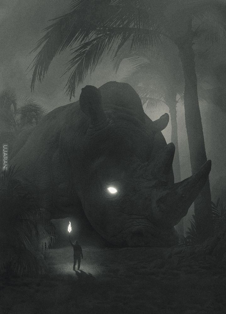 """Dawid Planeta  """"Mini People in the Jungle"""""""