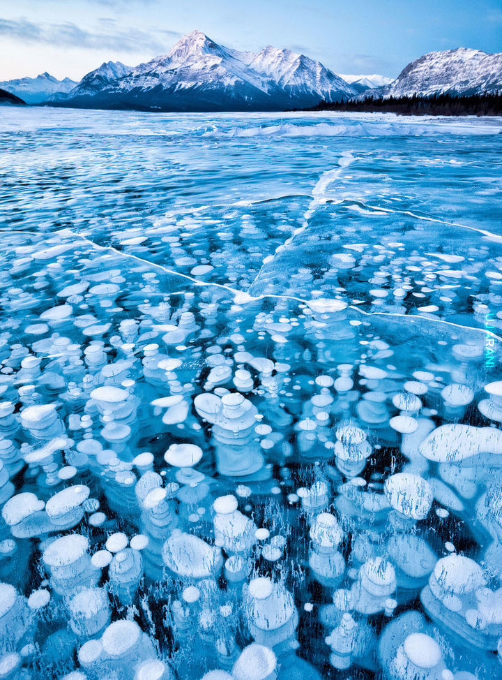 Abraham Lake, Kanada