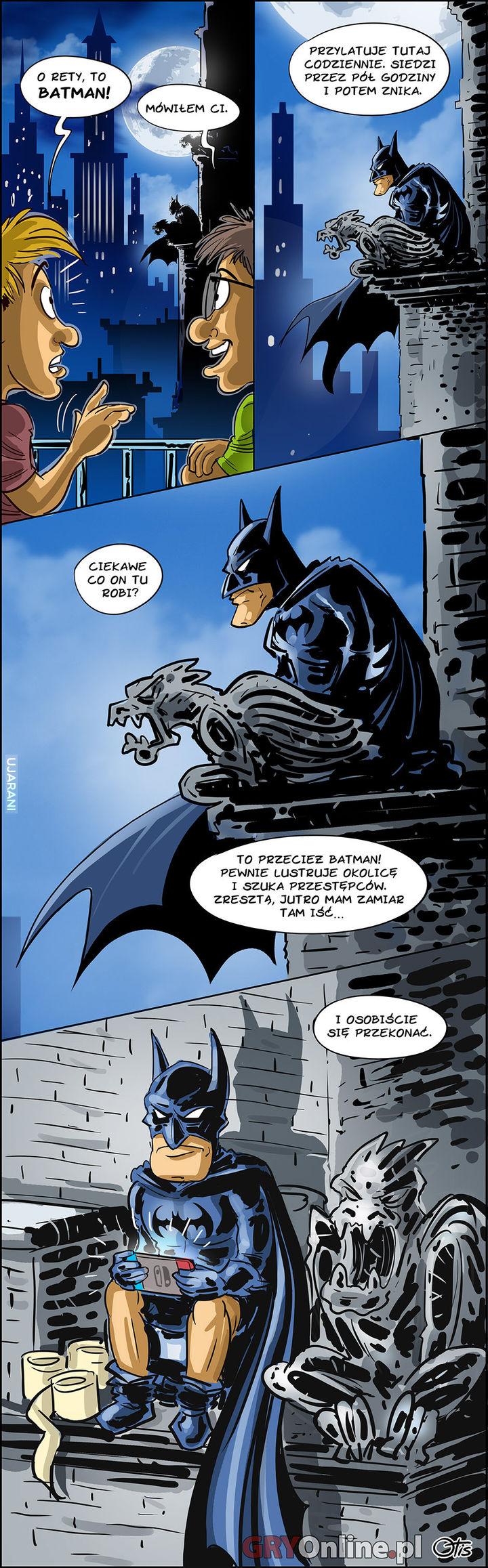 Co robi Batman?