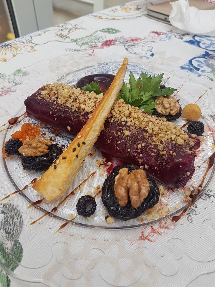 Sałatka w restauracji Baczewskich we Lwowie