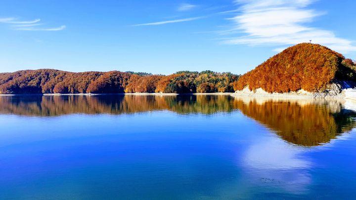 Jezioro Solińskie - Jesień 2018