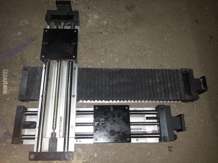 Moja własnej roboty frezarka CNC