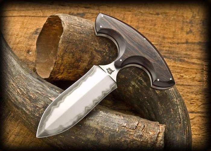Noże typu pushdagger (sa rozniez prace Polskich nozowników)