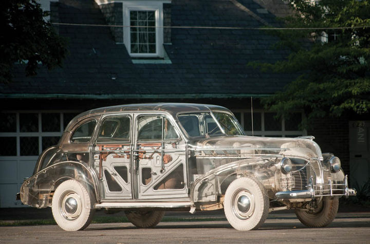 Pontiac Ghost Car 1939