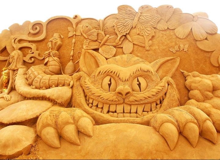 Kot z piasku