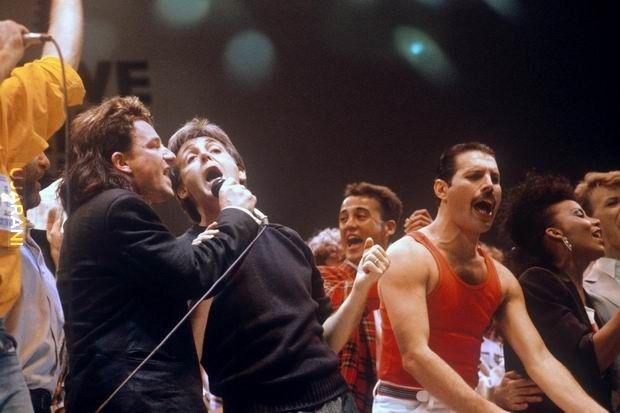 Bono, McCartney, Fredie....