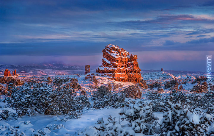 Zima w Utah