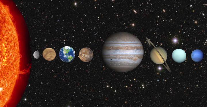 Jak długo człowiek mógłby przetrwać na poszczególnych planetach naszego układu bez kombinezonu