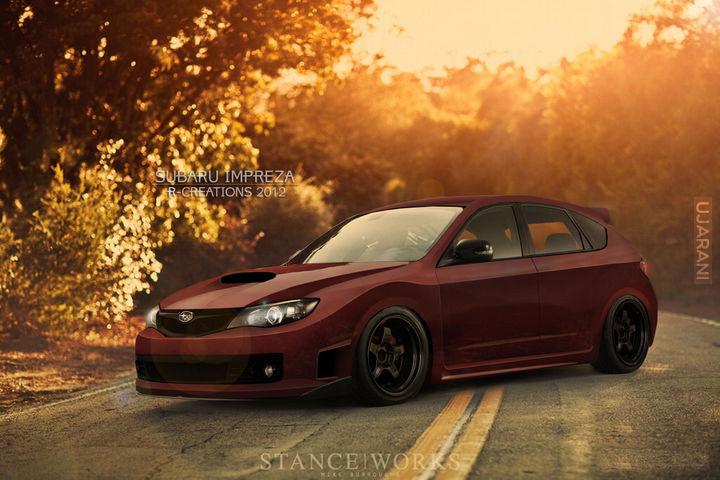 Subaru Impreza Cosworth by R-Creations