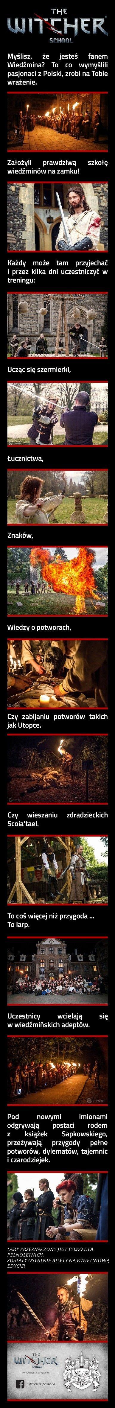 Myślisz, że jesteś fanem Wiedźmina? To co co wymyśli pasjonaci z Polski zrobi na Tobie wrażenie
