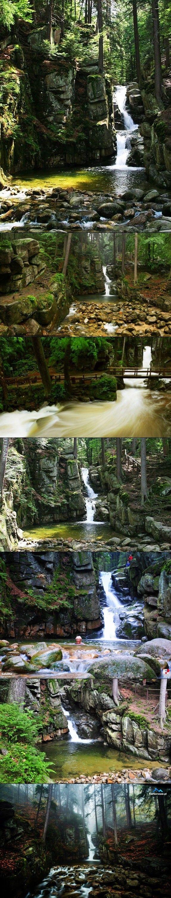 Wodospad Podgórnej - Karkonosze