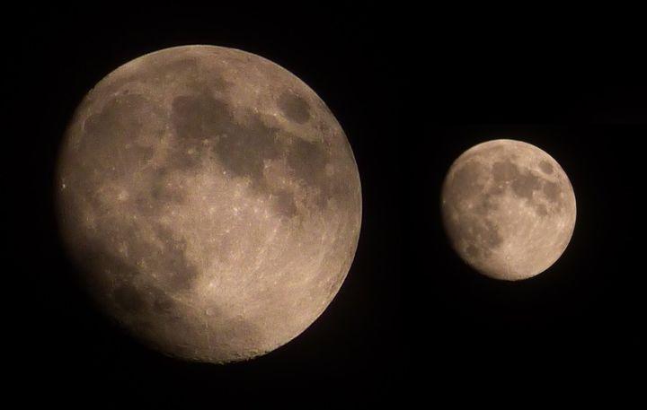 'Księżyc z młodszym bratem'