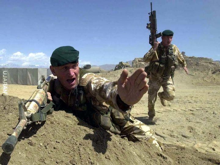 Ćwiczenia ,Afganistan.